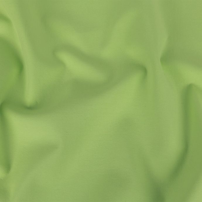 Apple Green Stretch Cotton Double Cloth
