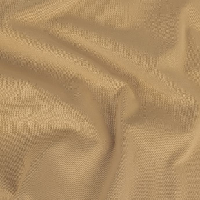 Frosted Almond Brushed Stretch Cotton Twill