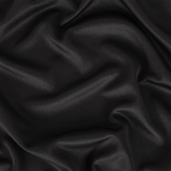 Black Polyester Tricot