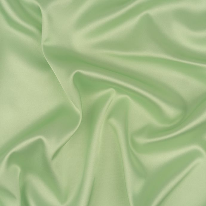 Mint Green Stretch Polyester Satin Lining