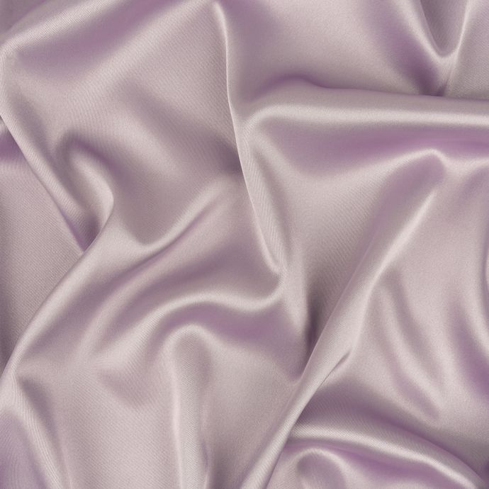 Lilac Stretch Polyester Satin Lining