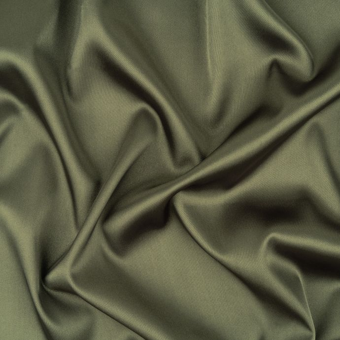 Forest Stretch Polyester Satin Lining