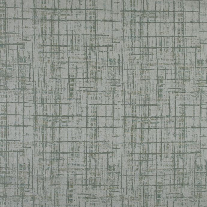 British Imported Sage Abstract Jacquard