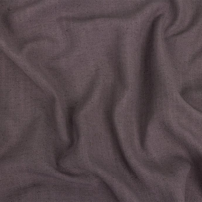 British Imported Lavender Polyester, Viscose and Linen Woven