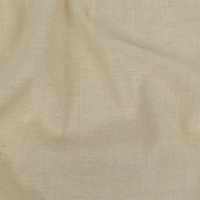 British Imported Oyster Polyester, Viscose and Linen Woven