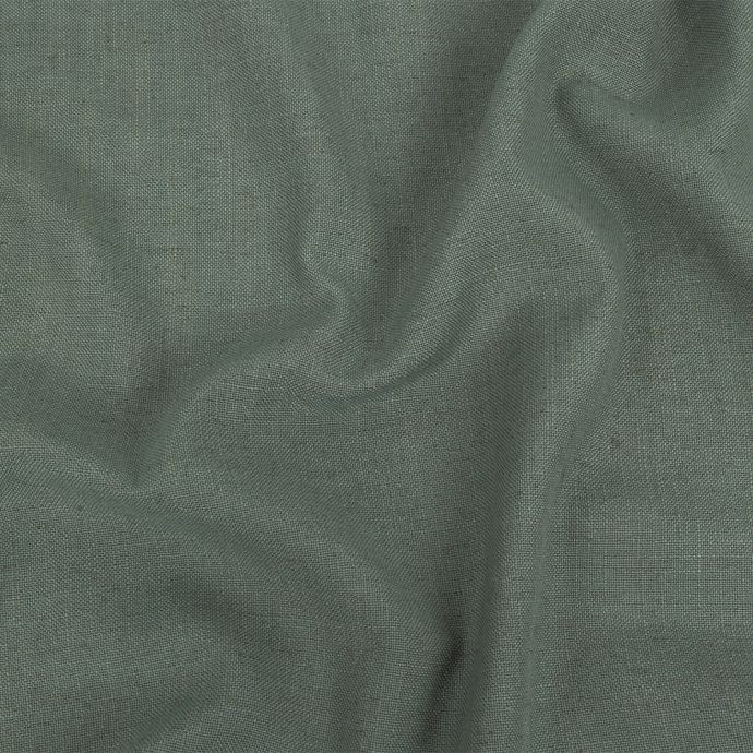British Imported Sage Polyester, Viscose and Linen Woven