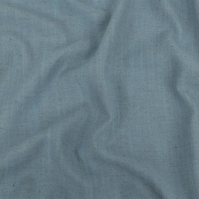British Imported Sky Polyester, Viscose and Linen Woven