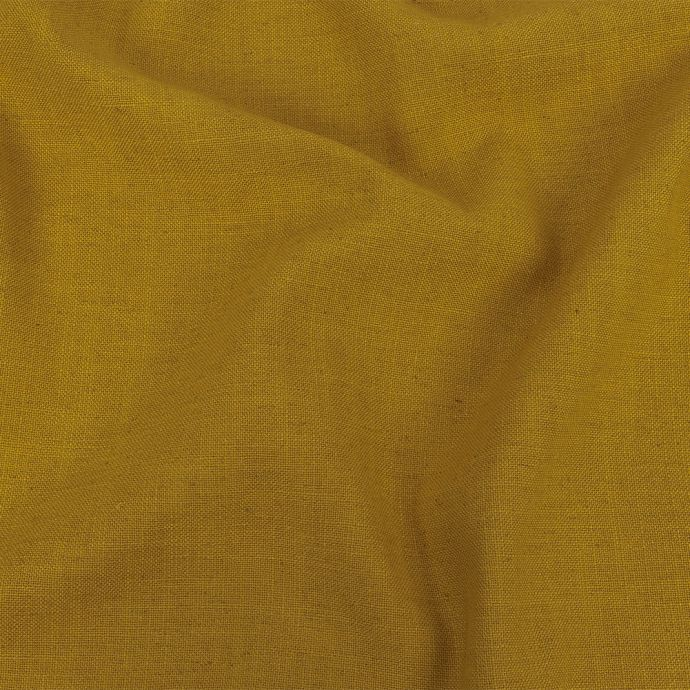 British Imported Sunflower Polyester, Viscose and Linen Woven