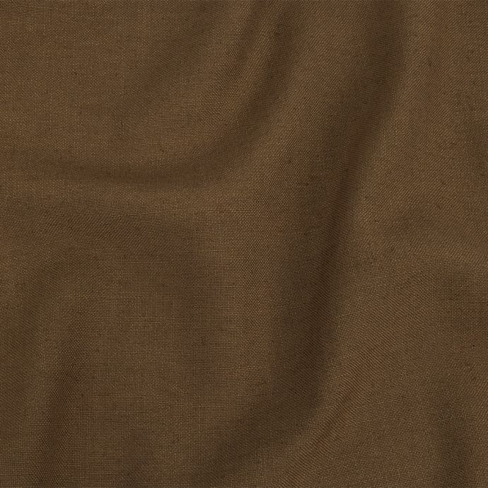 British Imported Toffee Polyester, Viscose and Linen Woven