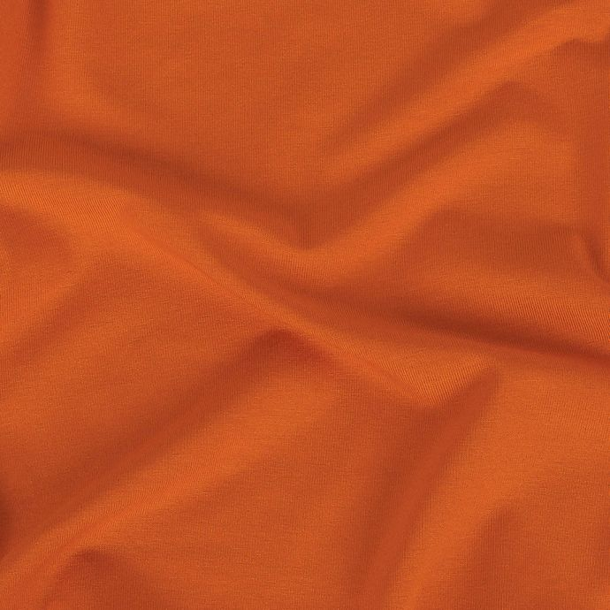 Pumpkin Stretch Rayon Jersey with Peached Reverse
