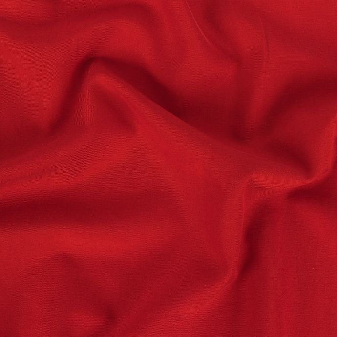 Red Washed Silk Twill