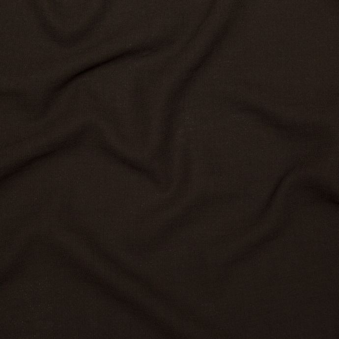 Italian Chocolate Creped Wool Double Cloth Wool Suiting