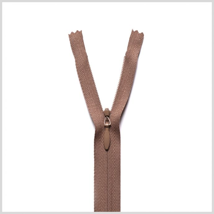 219 Olive Beige 9 Invisible Zipper