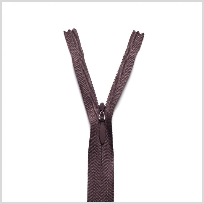 570 Dusted Brown 9 Invisible Zipper