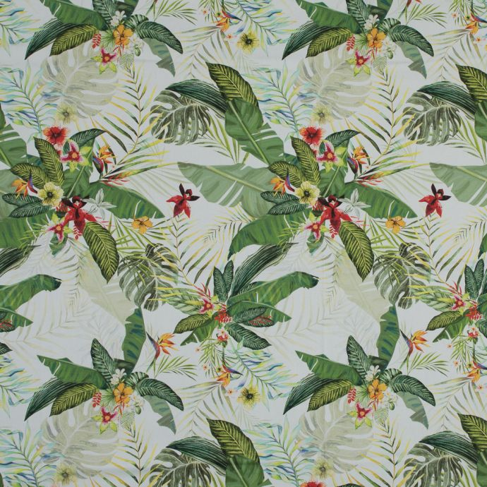 Mood Exclusive The Island's Palms Stretch Cotton Sateen