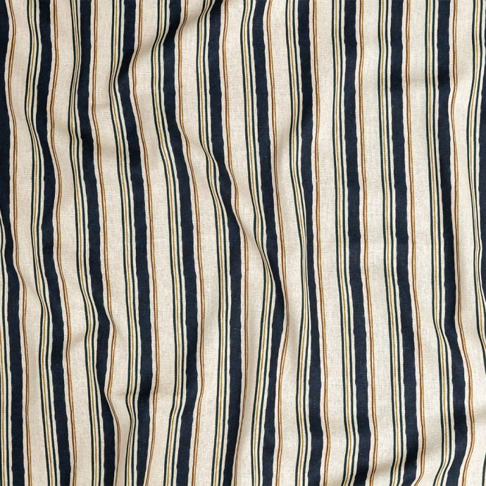 Mood Exclusive Linear Transcendence Natural Linen and Rayon Woven
