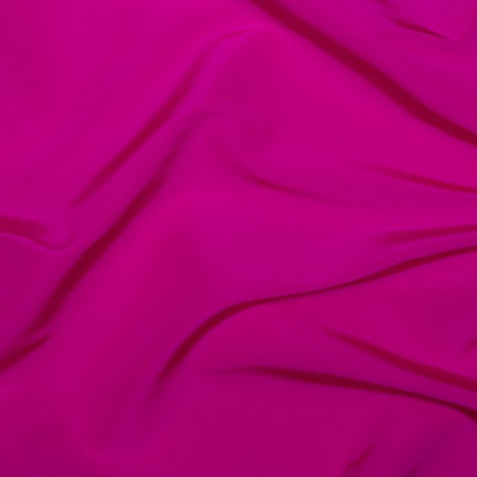 Hot Pink Solid Silk Faille