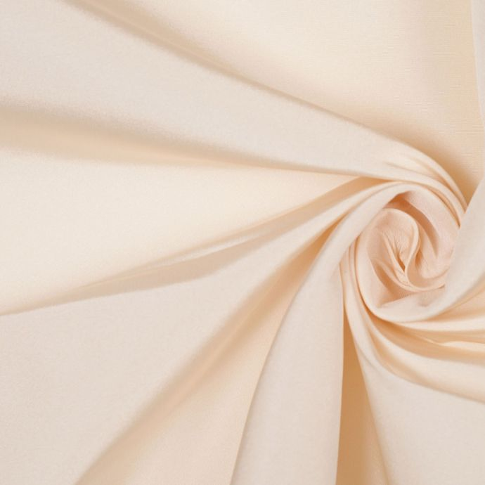 Ivory Solid Silk Faille