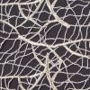 Metallic White and Gold Web Couture Guipure Lace Fabric - Detail