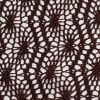 French Roast Polyester Lace - Detail