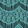 Spearmint Crochet Lace with Eyelash and All-over Scallop Design - Detail
