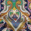 Mood Exclusive Multicolor Archway Arabesque Stretch Cotton Sateen - Detail
