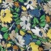 Mood Exclusive Mazarine Blue Butterfly's Home Viscose Twill - Detail