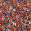 Mood Exclusive Coral Pink Blossomed Detonation Viscose Twill