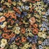 Mood Exclusive Black Demeter's Daydream Viscose and Linen Twill