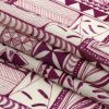 Mood Exclusive Magenta Collector's Botany Lightweight Viscose-Linen Woven - Folded