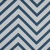 Mood Exclusive Blue Hele Zig-Zag Stretch Cotton Sateen