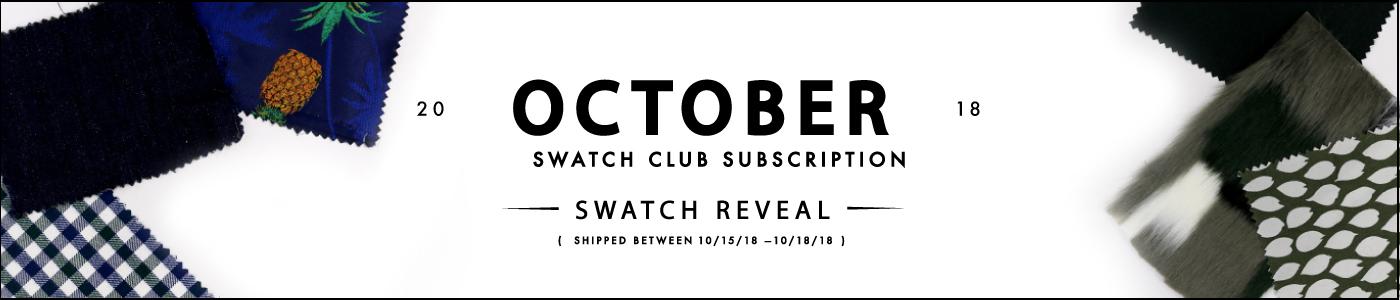 October Swatch Club