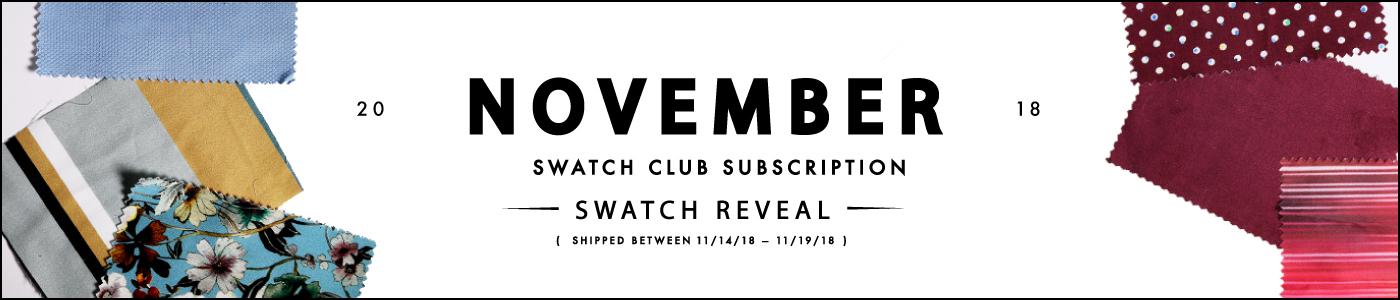 November Swatch Club