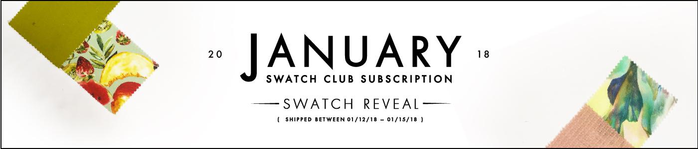 January Swatch Club