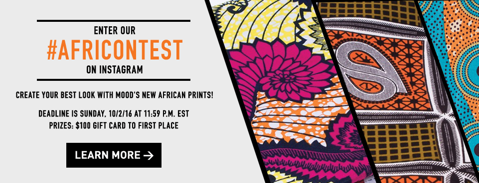 Submit Print Designs to #Africontest on Instagram!