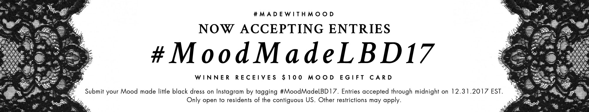 Full Terms and Conditions: #MoodMadeLBD17