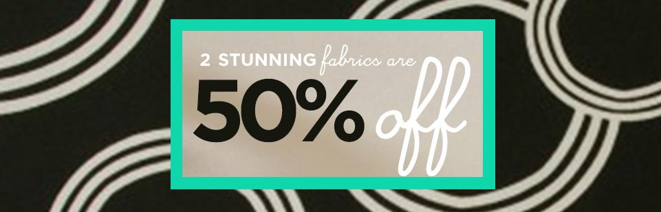 These stunning Silk & Satin fabrics are 50% off