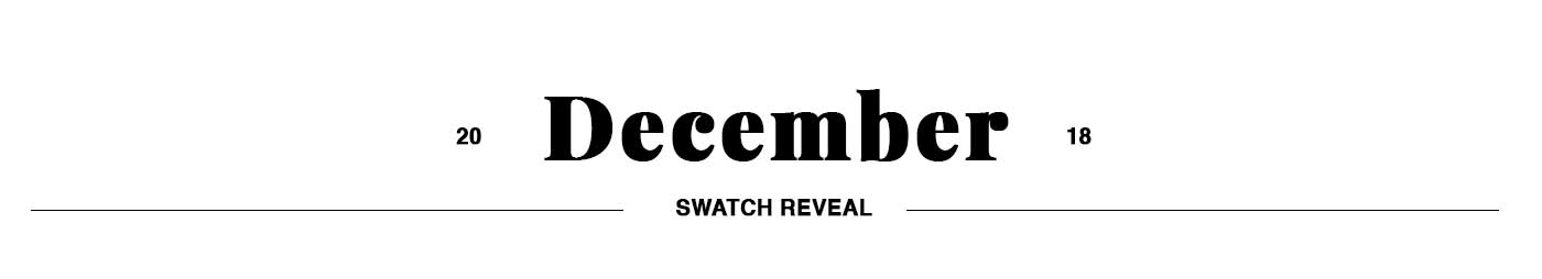 December Swatch Club