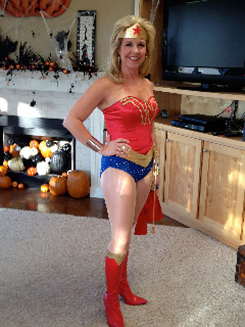Emily T. Wonder Woman Costume