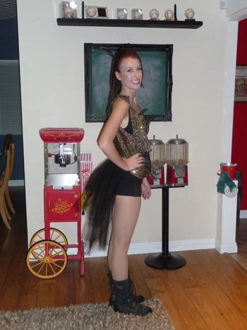 "Brittany S' Miley Cyrus ""Can't be Tamed"" Costume"