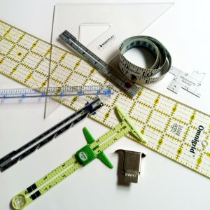 Here are some of the measuring tools I rely on to check accuracy.